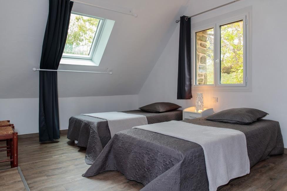 chambre 2 2 lits simples et salle deau privative 1er etage